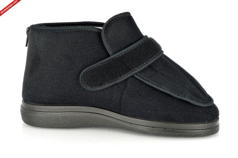 74553c87a7 Kolor  czarne. Materiał wierzchni  naturalny materiał tekstylny. Wnętrze  buta  naturalny materiał tekstylny. Rozmiary  do 39 do 44